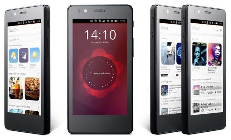 Ubuntu Smartphone Aquaris E4.5
