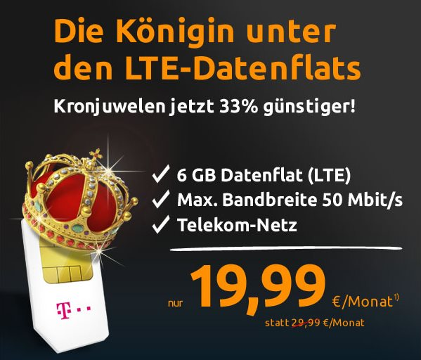 LTE Datenflat 6 GB April 2015