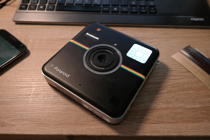 Polaroid Socialmatic Test
