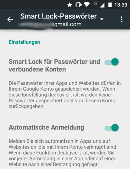 smart lock passwörter