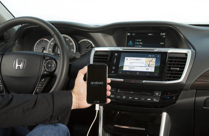 Honda Accord Android Auto 2015