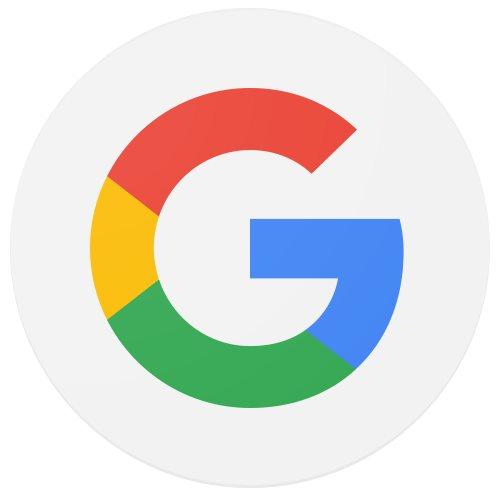 Google Logo 2015 rund