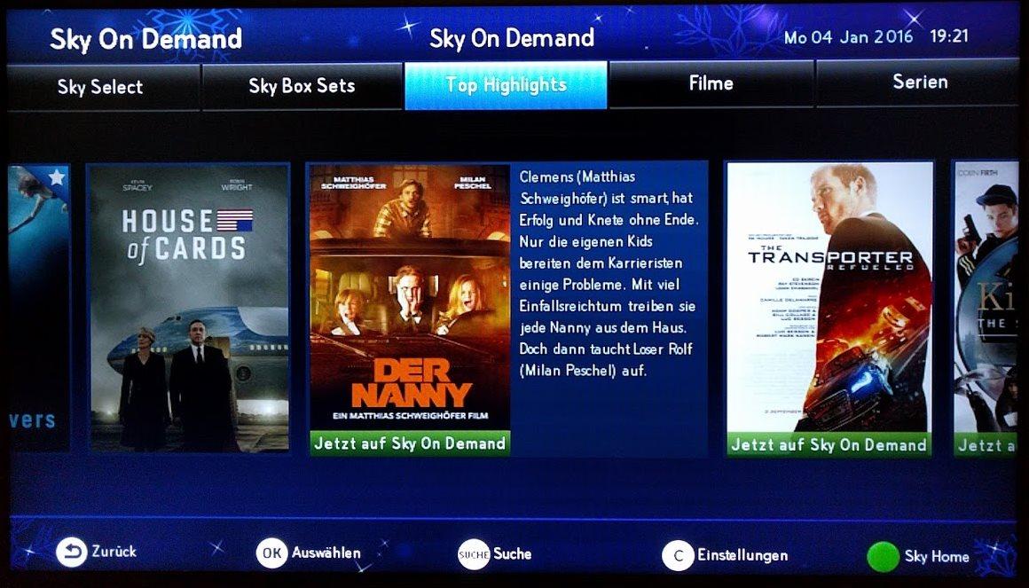 Filme Bei Sky On Demand