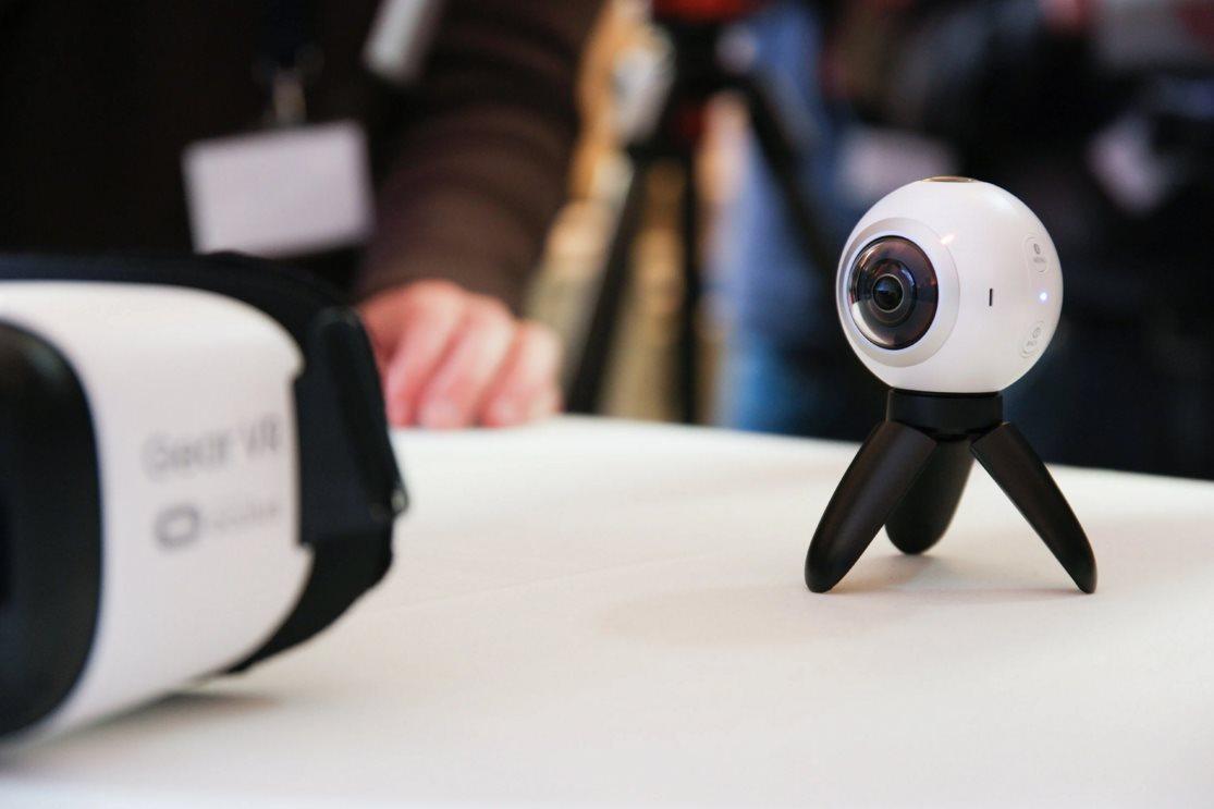 Samsung Gear 360: Neue VR-Kamera vorgestellt