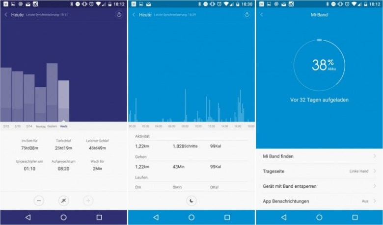 Mi Band 1S App