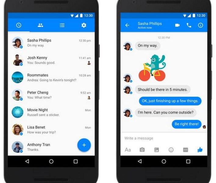 Facebook Messenger 2016
