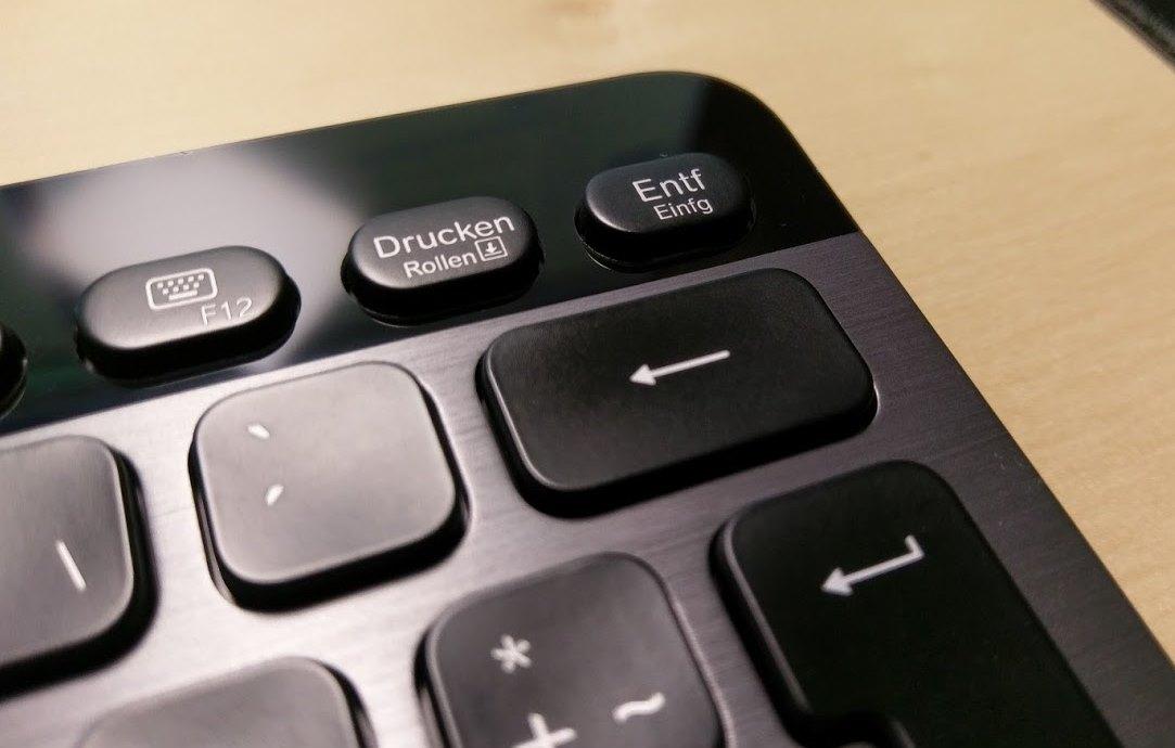 Backspace Tastatur