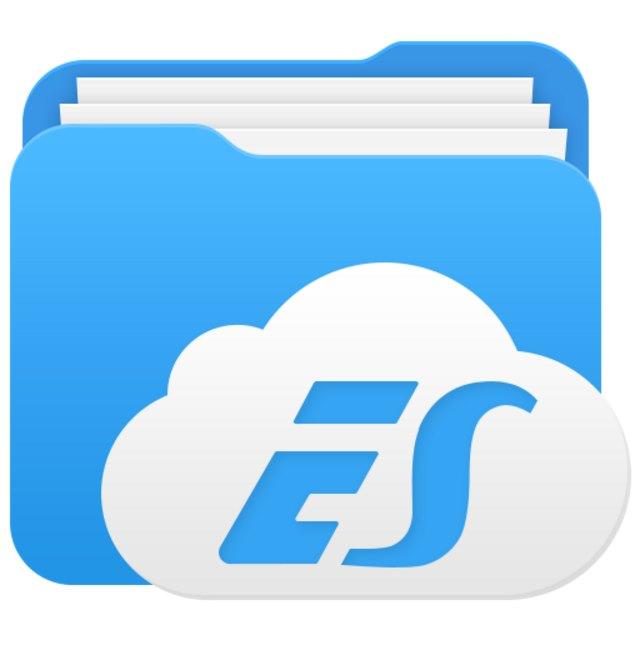 ES Datei Explorer Android Logo