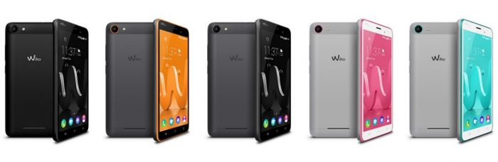 Wiko Jerry Farben