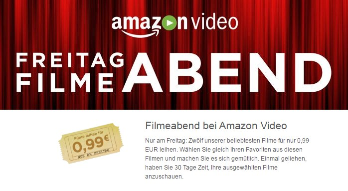 Amazon Filemabend 12 Filme
