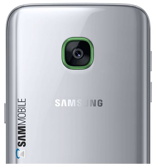 Smart Glow Samsung Galaxy S8 Mockup