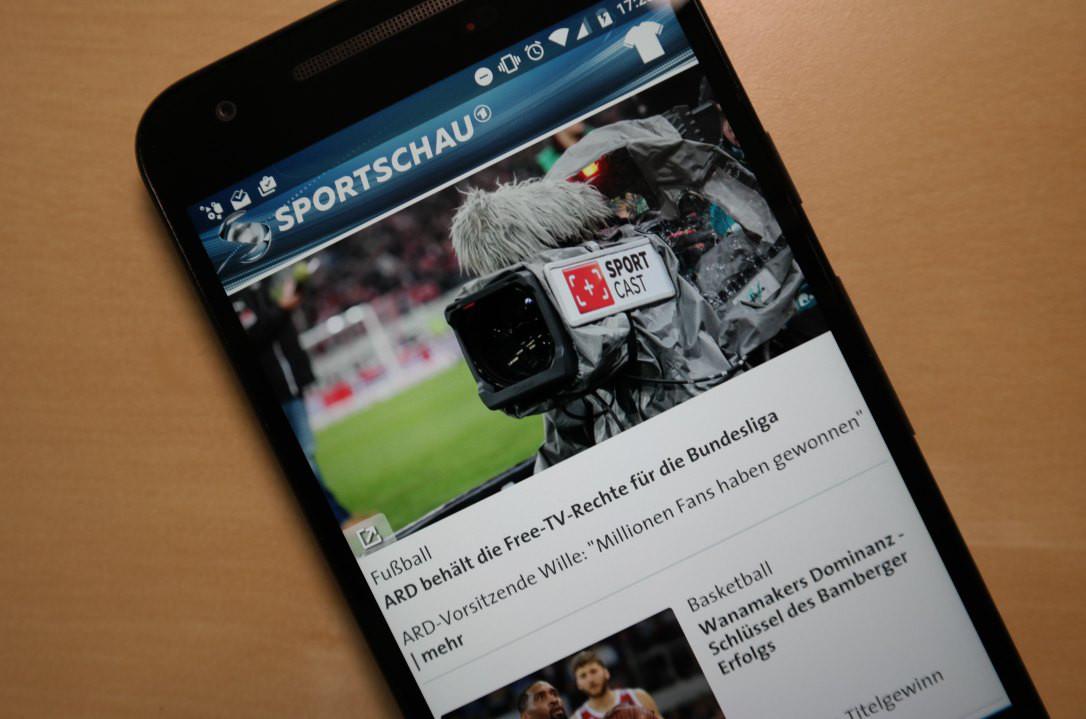 Sportschau App 2016 Header
