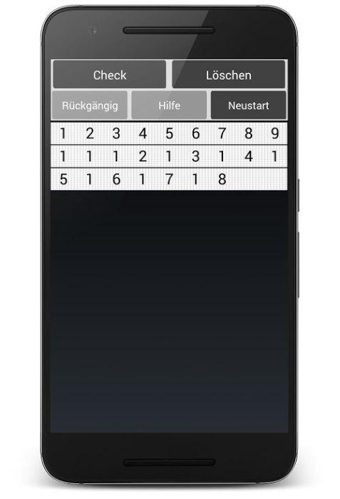 Zahlenspiel für Android