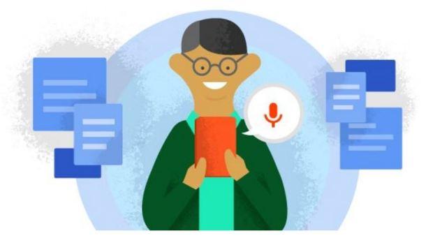 Ok Google Spracheingabe Header