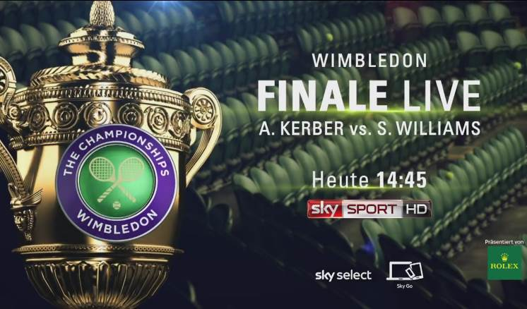 Sky Wimbledon Finale 2016