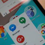 Google Hangouts Logo Header