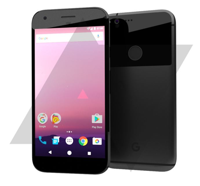 HTC Nexus 2016 Design Leak