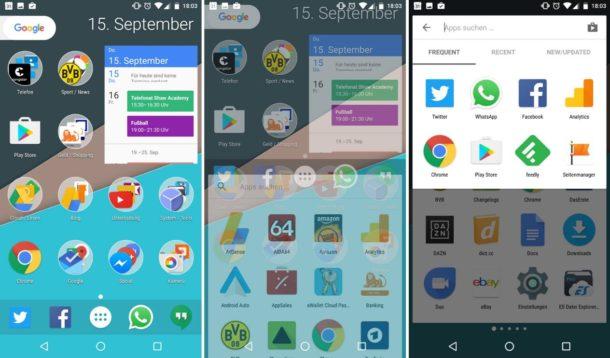 nova launcher beta september 2016