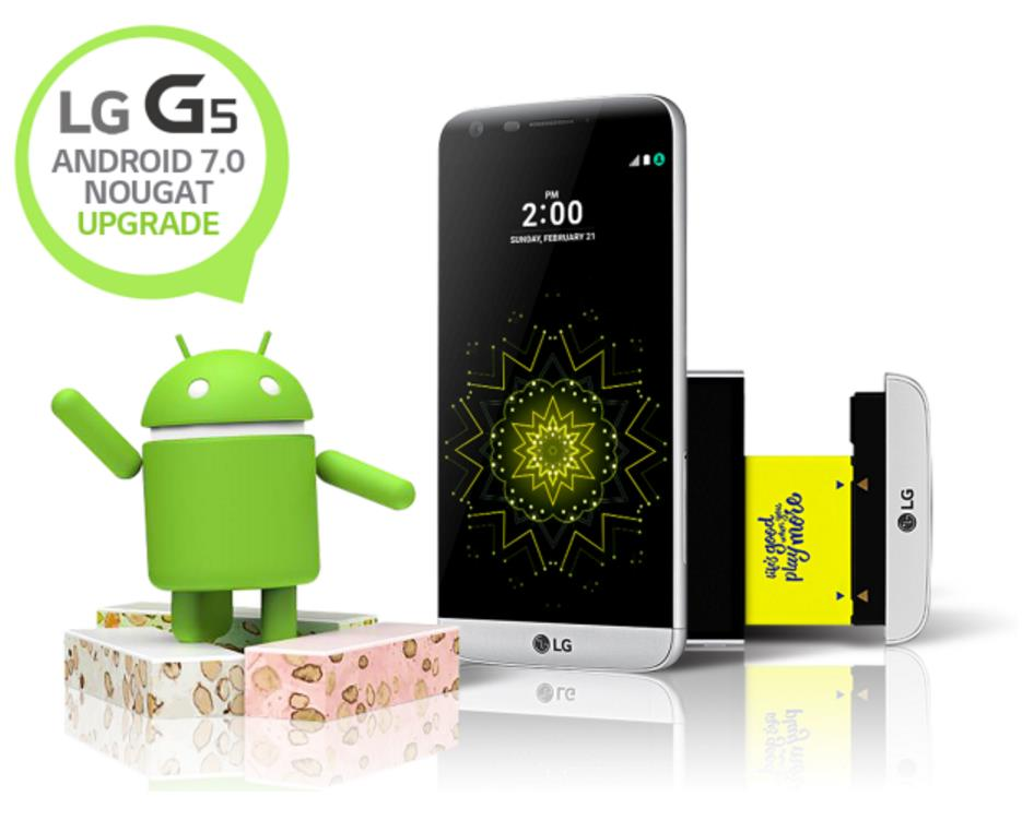 LG G5 Android 7 Nougat