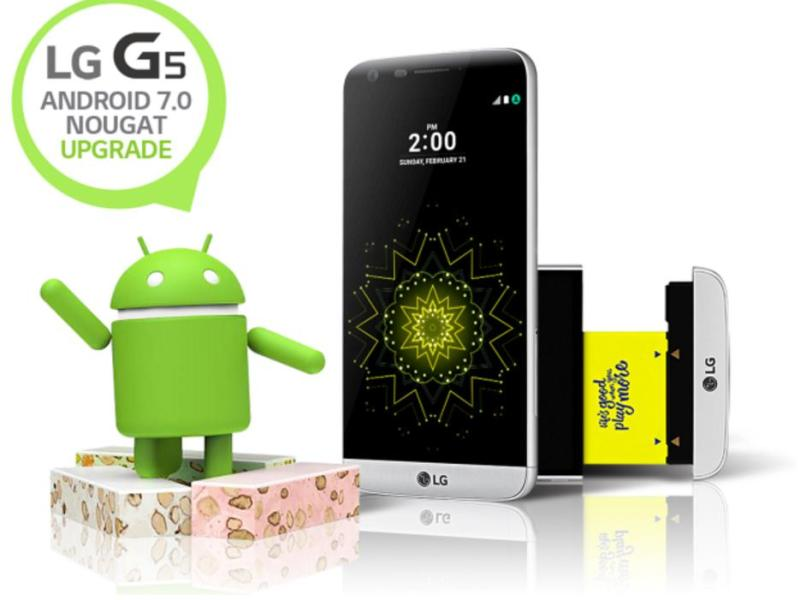 LG G5 Android 7 Nougat