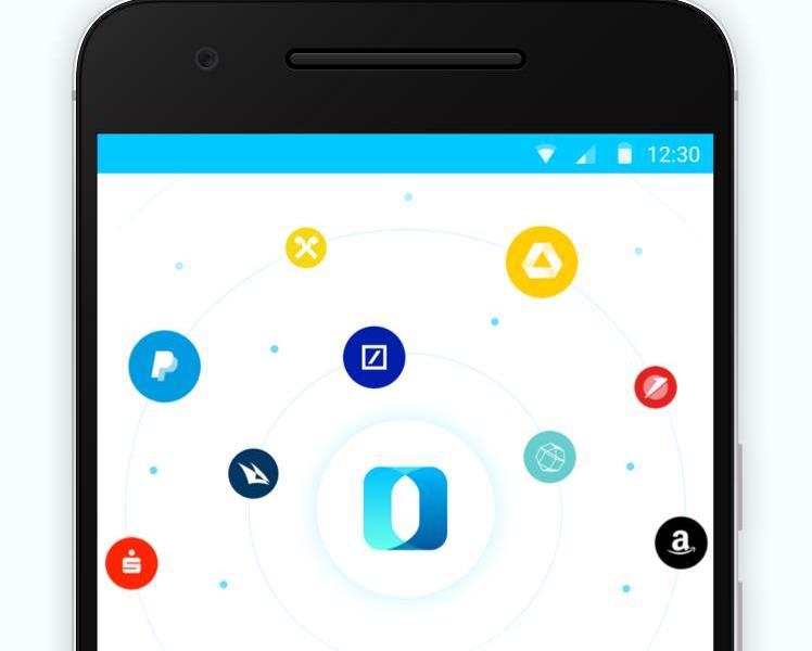 Outbank App Header