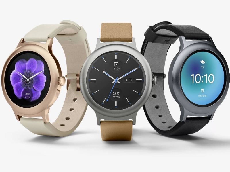 Android Wear 2.0 Watch Style Sport Header