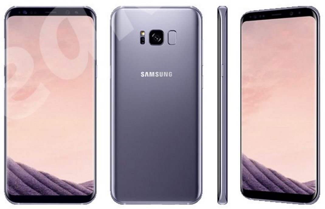 Galaxy S8 Farben