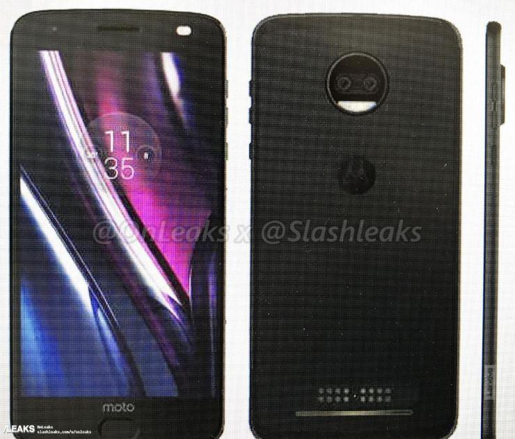 Motorola Moto Z2 Force Leak
