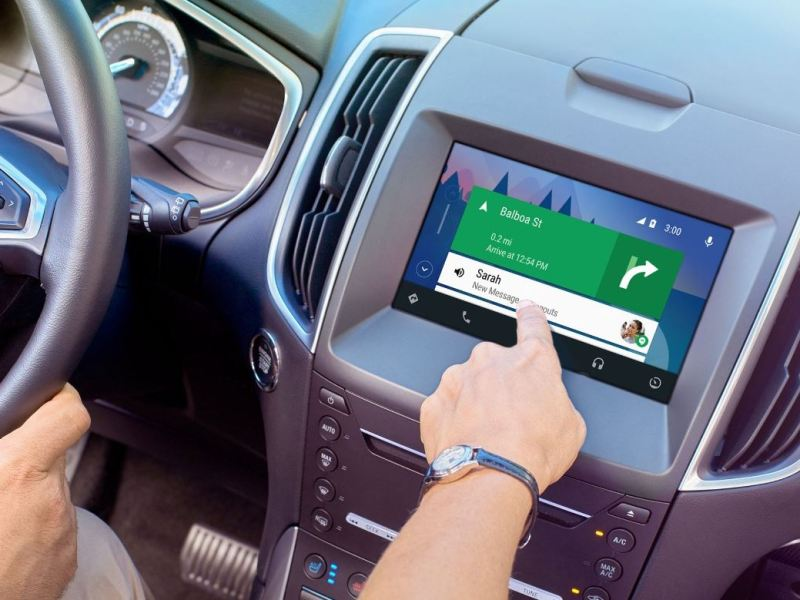 Ford Android Auto Header