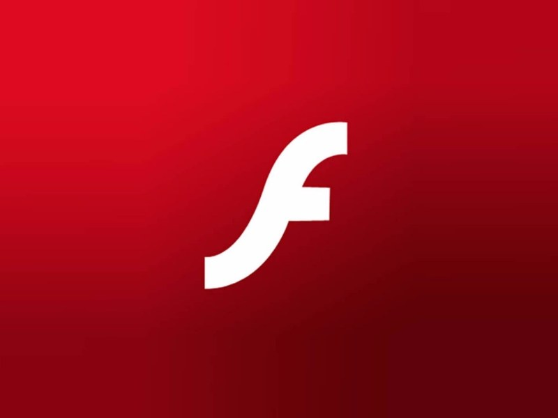 Adobe Flash Header Logo