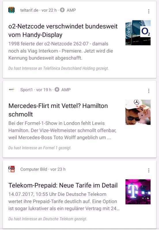 Google App AMP