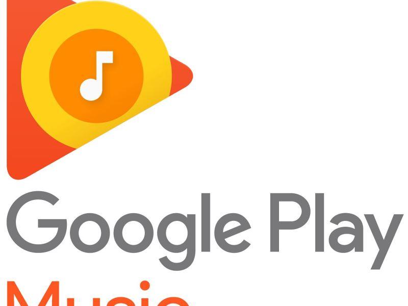 Google Play Music Musik Logo Header