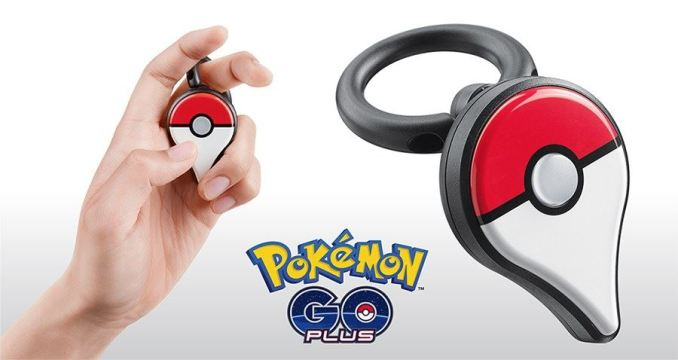 Pokemon GO Plus Finger