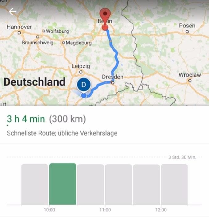 Zeitfenster Routenplanung Google Maps