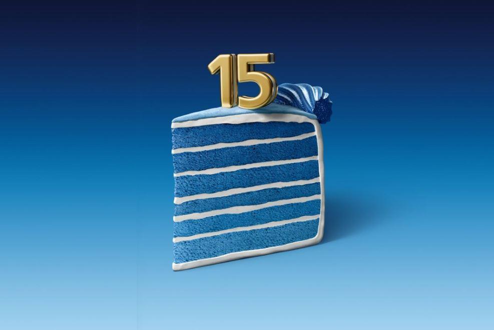 o2 15 Geburtstag