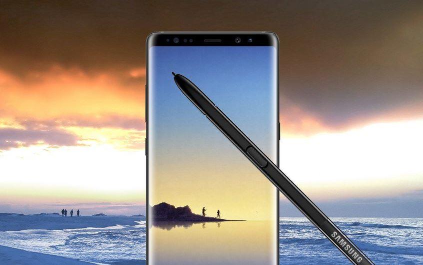 Sansung Galaxy Note8 Header