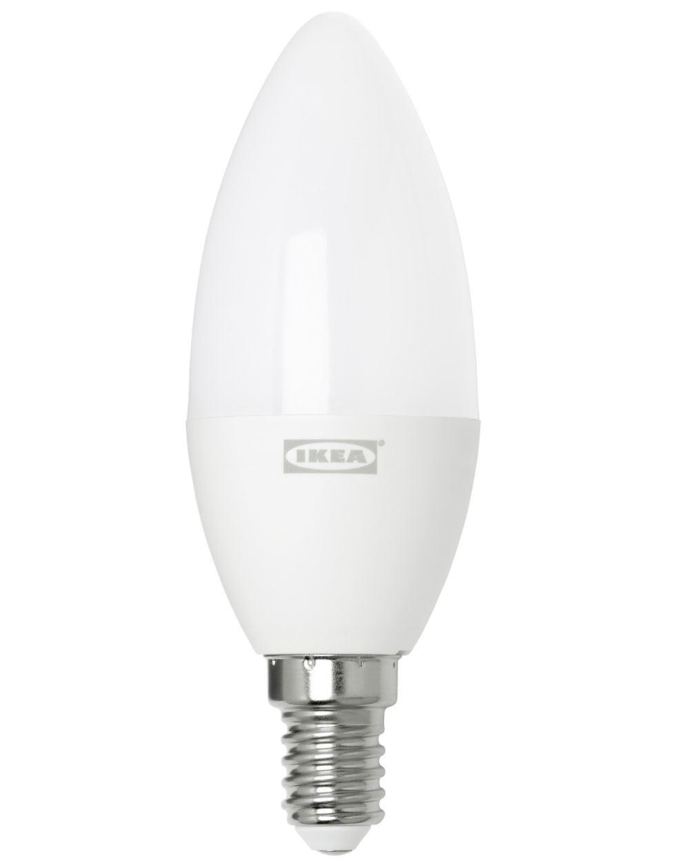 Ikea Tradfri: E14 LEDs jetzt auch schon ab 6,99 Euro erhältlich [UPDATE]