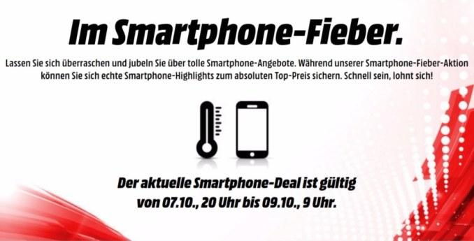 Smartphone Fieber MediaMarkt Oktober 2017