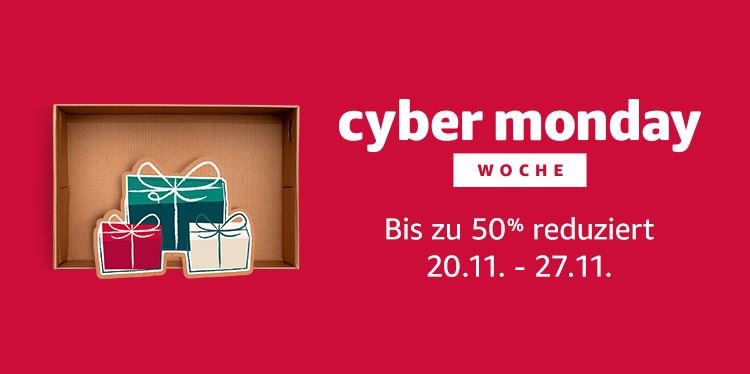 Amazon Cyber Monday Woche 2017 Header