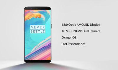 OnePlus 5T Header