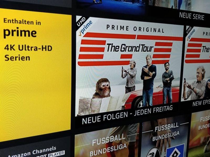 Amazon Ultra HD Header