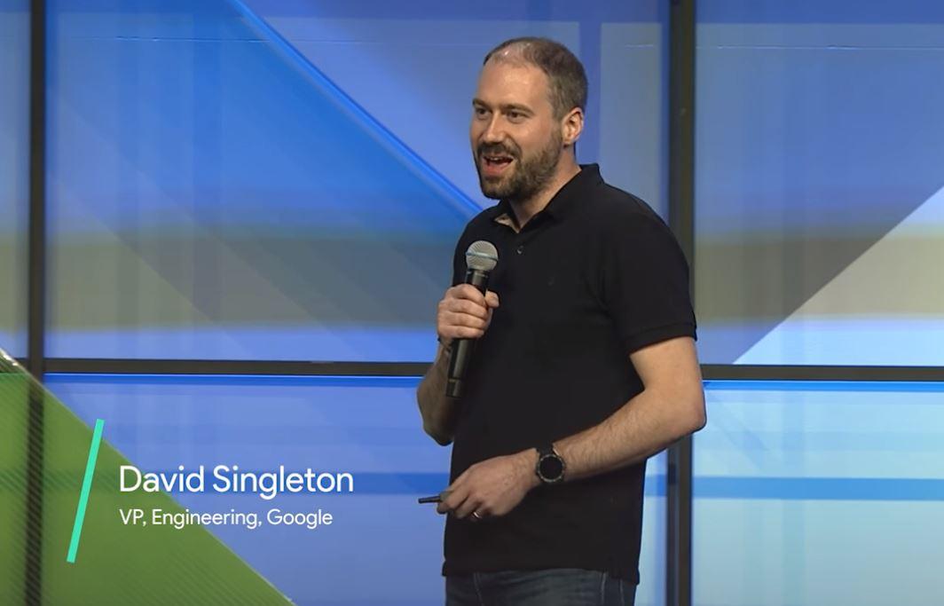David Singleton Android Wear