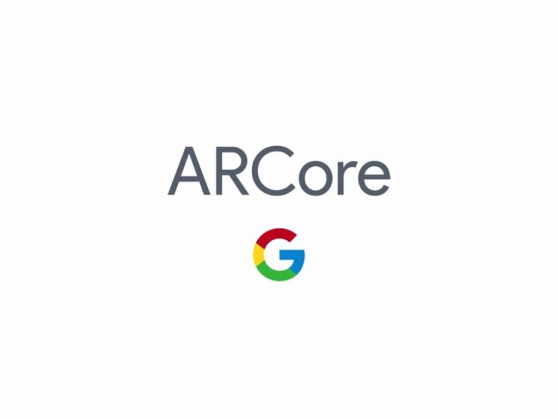Google ARCore Logo Header