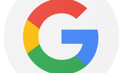 Google Logo Header rund