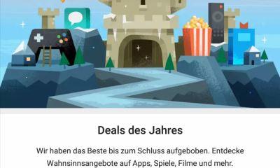 Google Play Deals des Jahres 2017