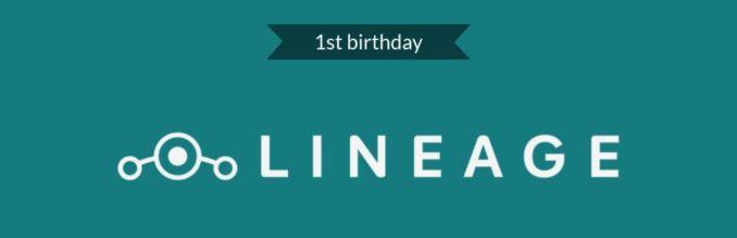 LineageOS Geburtstag 1