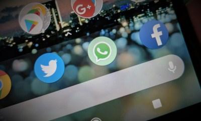 WhatsApp, Twitter, Facebook header