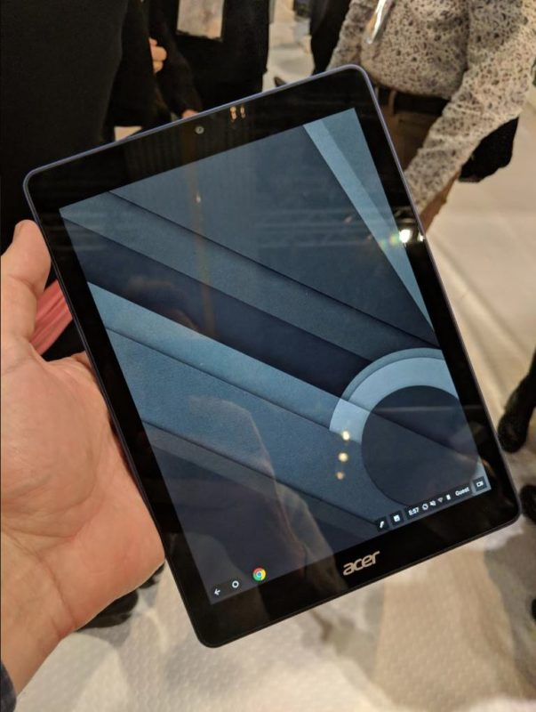 Acer Chrome OS Tablet