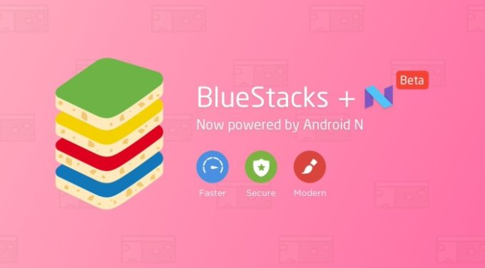 Bluestacks Android 7 Nougat Header
