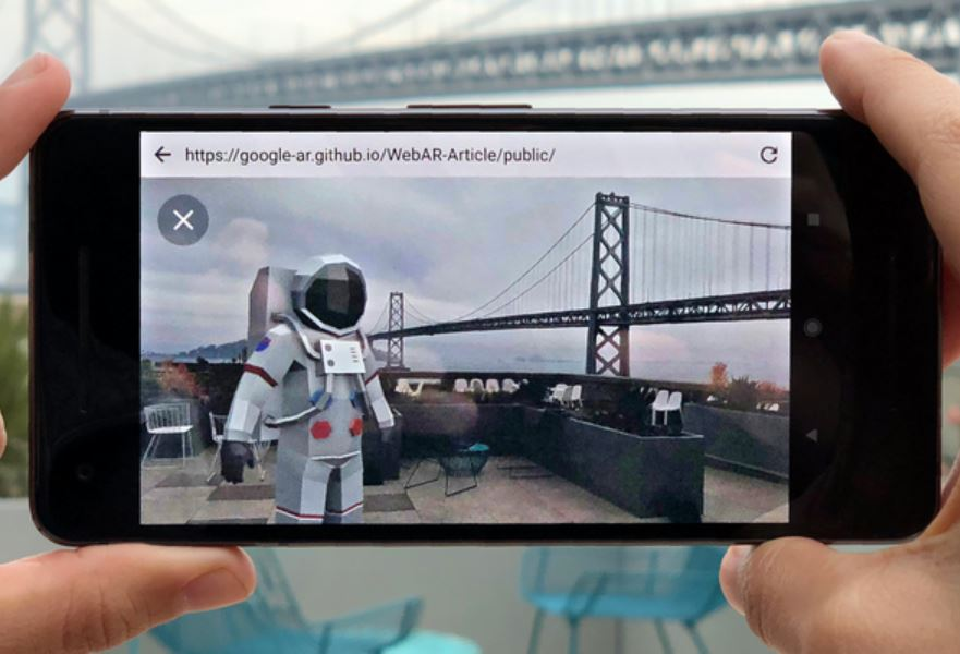 Google AR im Browser
